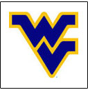 West Virginia <br>College Logo Items