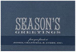 Checkerboard Corporate Holiday Greeting Cards - Festive Wishes (HLC-VVI-E)
