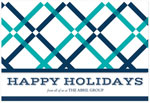 Checkerboard Corporate Holiday Greeting Cards - Splendid Greetings (HLC-EBA-L)