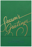Checkerboard Corporate Holiday Greeting Cards - Season's Greetings (HLC-JXF-R)