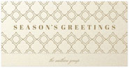 Checkerboard Corporate Holiday Greeting Cards - Tailored Stars (HLC-KOU-Y)