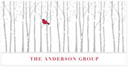 Checkerboard Corporate Holiday Greeting Cards - Woodland Greetings (HLC-NJX-Z)