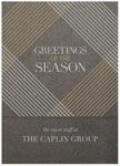 Checkerboard Corporate Holiday Greeting Cards - Greetings of the Season (HLC-SSV-L)