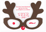 Checkerboard Holiday Greeting Cards - Reindeer Games (HLG-AES-G)