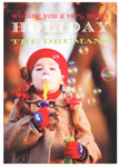 Checkerboard Digital Holiday Photo Cards - Very Merry Holiday (HLG-FWA-L)