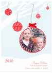 Checkerboard Digital Holiday Photo Cards - Holiday Sentiment (HLG-HVK-W)