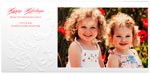 Checkerboard Holiday Photo Cards - Cascading Flourish (HLG-NWK-D)