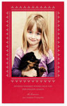 Checkerboard Holiday Photo Cards - Refined (Vertical) (HLG-FXC-O)
