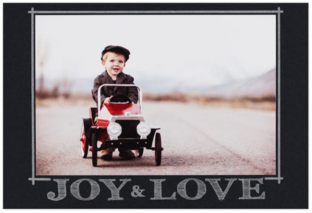Checkerboard Holiday Photo Cards - Hearken Back (HLG-TBO-S)