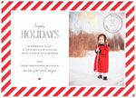 Checkerboard Digital Holiday Photo Cards - Par Avion (HLG-BGJ-A)