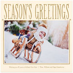 Checkerboard Holiday Photo Cards - Season of Delights (Season's Greetings) (HLG-DAJ-W)