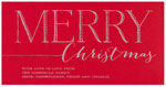 Checkerboard Holiday Greeting Cards - Very Merry (HLG-FQH-M)
