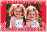 Checkerboard Holiday Photo Cards - Bright & Beautiful (HLG-ICE-Y)