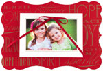 Checkerboard Digital Holiday Photo Cards - Holiday Charm (HLG-JGM-L)