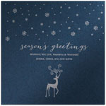 Checkerboard Holiday Greeting Cards - Silent Night (HLG-JNF-L)
