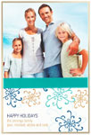Checkerboard Digital Holiday Photo Cards - Fetching Flurry (HLG-MXA-T)