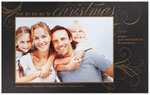 Checkerboard Holiday Photo Cards - Gilded Splendor (HLG-PNA-M)