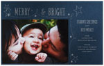 Checkerboard Holiday Photo Cards - Precious (HLG-YJL-C)