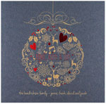 Checkerboard Holiday Greeting Cards - Festive Pomander (HLG-AAO-Y)