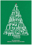 Checkerboard Holiday Greeting Cards - Cheery Tree (HLG-HVA-M)