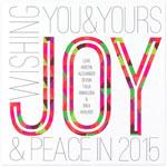 Checkerboard Holiday Greeting Cards - Spirited Joy (HLG-CLB-Y)