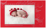 Checkerboard Holiday Photo Cards - Treasure (HLG-VXT-V)