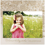 Checkerboard Holiday Photo Cards - Reverie (HLG-WQE-A)