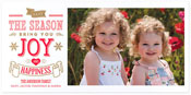 Checkerboard Holiday Photo Cards - Mirthful Moment (HLG-YIU-K)