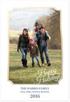 Checkerboard Digital Holiday Photo Cards - Friendly Frame (HLG-CRQ-T)