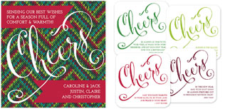Checkerboard Holiday Greeting Cards - A Tasty Treat (HLG-ETK-R)