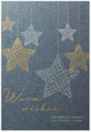 Checkerboard Holiday Greeting Cards - Starbright (HLG-GOJ-N)