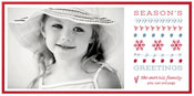 Checkerboard Holiday Photo Cards - Holiday Prints (HLG-HBV-N)