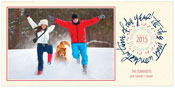 Checkerboard Holiday Photo Cards - Burst of Joy (HLG-HSQ-Z)