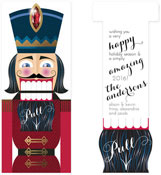 Checkerboard Holiday Greeting Cards - The Nutcracker (HLG-IWU-I)