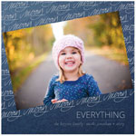 Checkerboard Holiday Photo Cards - Merry Everything (HLG-JHB-B)