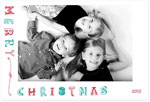 Checkerboard Holiday Photo Cards - Drawn Together (HLG-JKC-F)