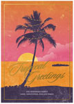 Checkerboard Holiday Greeting Cards - Local Charm (Tropics) (HLG-JYD-U)