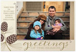 Checkerboard Holiday Photo Cards - Tones of the Season (HLG-LCI-F)