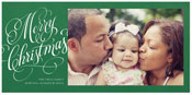 Checkerboard Holiday Photo Cards - Holiday Tidings (HLG-LEA-Z)