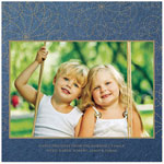 Checkerboard Holiday Photo Cards - Seasonal Stitches (HLG-NAP-M)