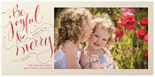 Checkerboard Holiday Photo Cards - Be Joyful (HLG-NMA-J)