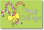 Finlay Prints - Holiday Postcards (Candy Cane Holiday) (EC06)