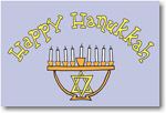 Finlay Prints - Holiday Postcards (Menorah Stand) (EC22)
