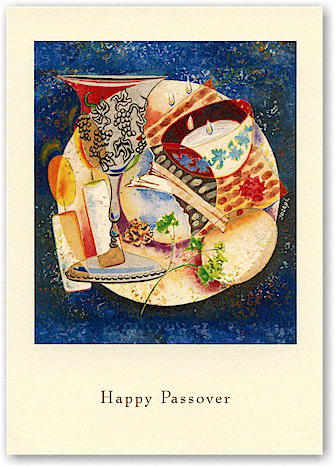 Indelible Ink Passover Card - The Passover Celebration (#807)