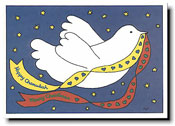 Paper People Holiday Cards - Dove