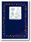 Paper People Holiday Cards - Interfaith Picture Box (IF06700)