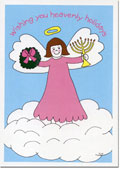 Paper People Holiday Cards - Interfaith Angel (IF07703)