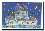 Paper People Holiday Cards - Noah's Ark