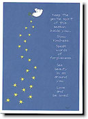 Paper People Holiday Cards - Starry Sky