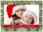Digital Holiday Photo Cards (Bold Pattern) (CH302)